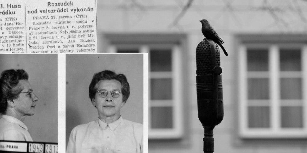 Paměť národa připomíná vraždu Milady Horákové a poukazuje na hanbu české vlády
